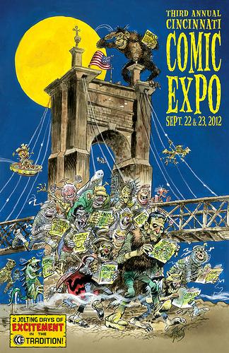 Cincinnati Comic Expo 2012