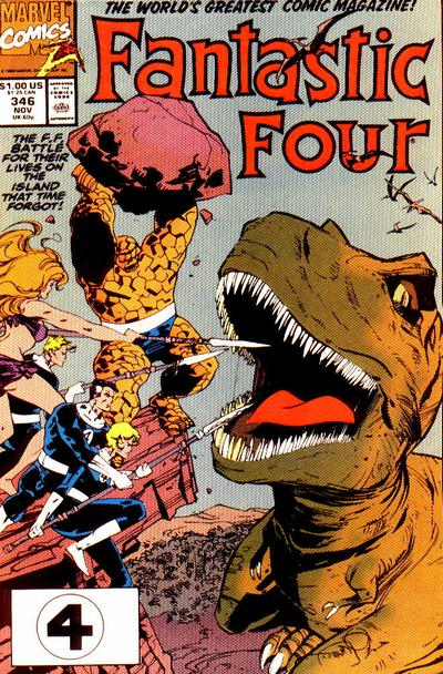 Fantastic Four Vol. 1 #346