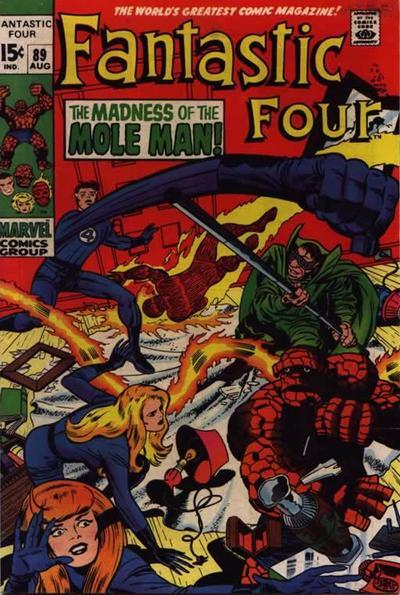 Fantastic Four Vol. 1 #89