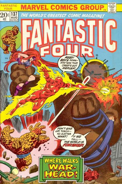 Fantastic Four Vol. 1 #137