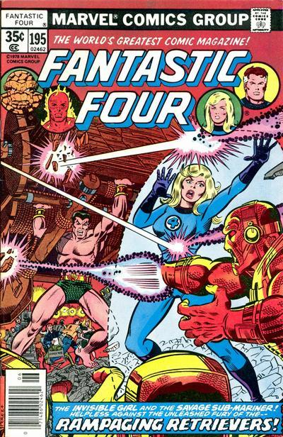 Fantastic Four Vol. 1 #195