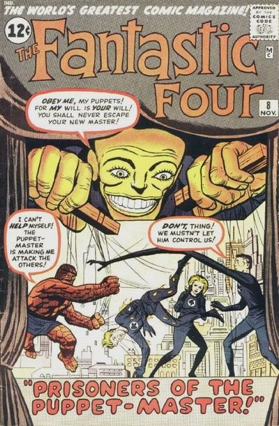 Fantastic Four Vol. 1 #8