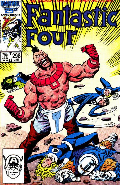Fantastic Four Vol. 1 #298