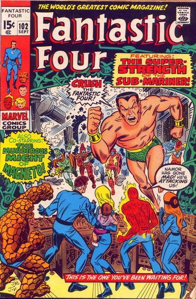 Fantastic Four Vol. 1 #102