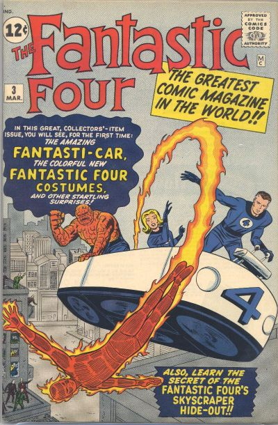 Fantastic Four Vol. 1 #3