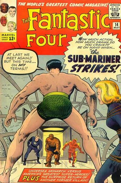 Fantastic Four Vol. 1 #14