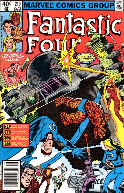 Fantastic Four Vol. 1 #219