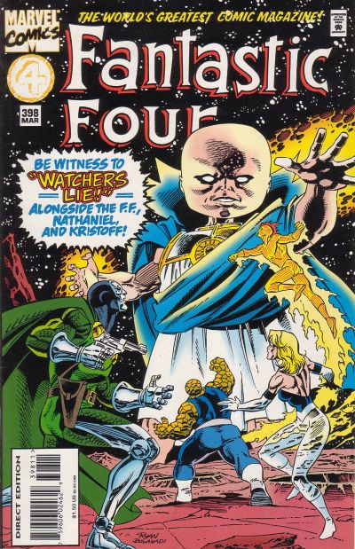 Fantastic Four Vol. 1 #398A