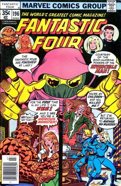 Fantastic Four Vol. 1 #196