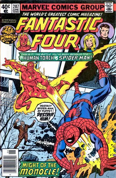 Fantastic Four Vol. 1 #207
