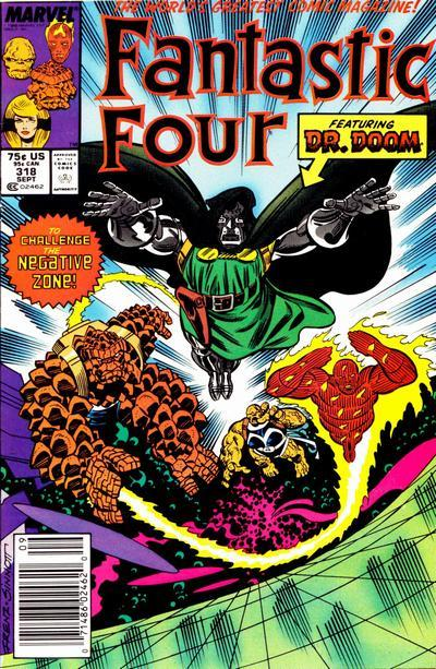 Fantastic Four Vol. 1 #318