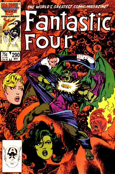Fantastic Four Vol. 1 #290