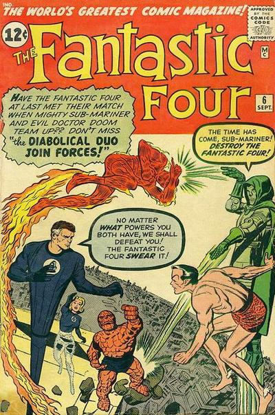 Fantastic Four Vol. 1 #6