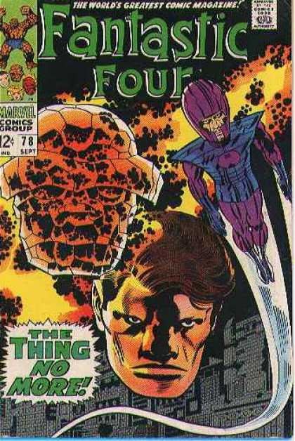 Fantastic Four Vol. 1 #78