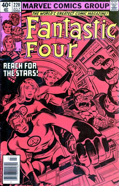Fantastic Four Vol. 1 #220