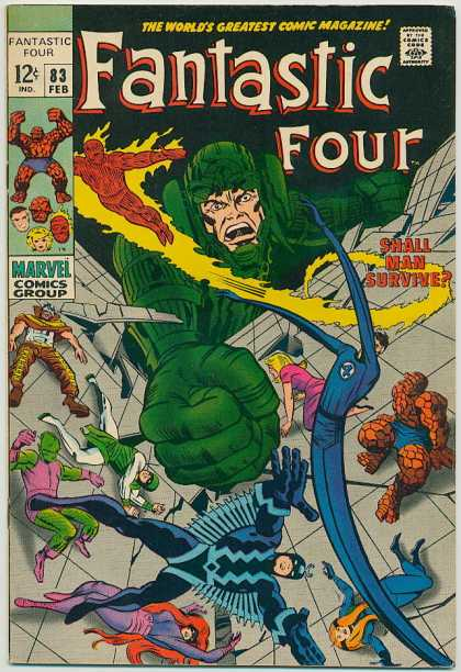 Fantastic Four Vol. 1 #83