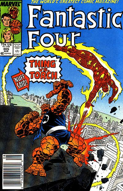 Fantastic Four Vol. 1 #305