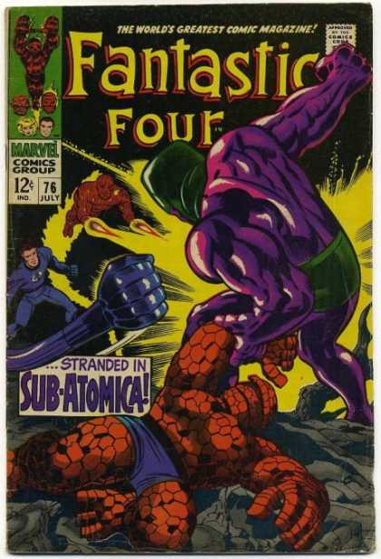 Fantastic Four Vol. 1 #76