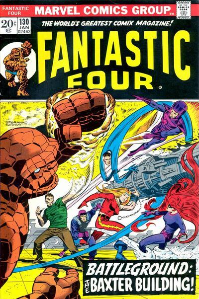 Fantastic Four Vol. 1 #130