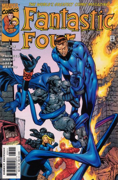 Fantastic Four Vol. 3 #39