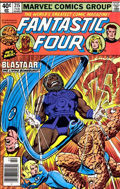 Fantastic Four Vol. 1 #215