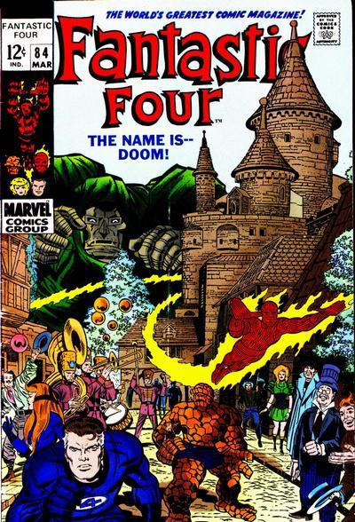 Fantastic Four Vol. 1 #84