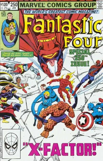 Fantastic Four Vol. 1 #250