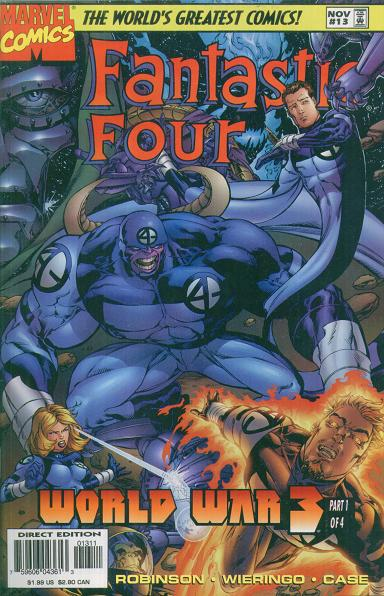 Fantastic Four Vol. 2 #13