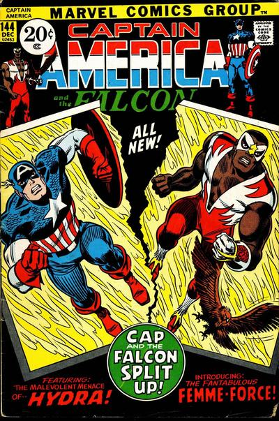 Captain America Vol. 1 #144