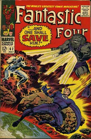 Fantastic Four Vol. 1 #62