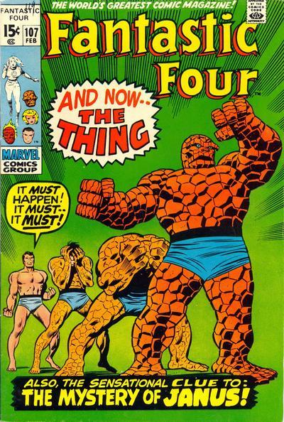 Fantastic Four Vol. 1 #107