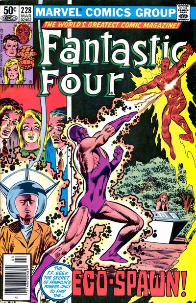 Fantastic Four Vol. 1 #228