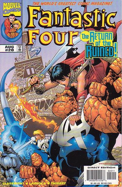 Fantastic Four Vol. 3 #20