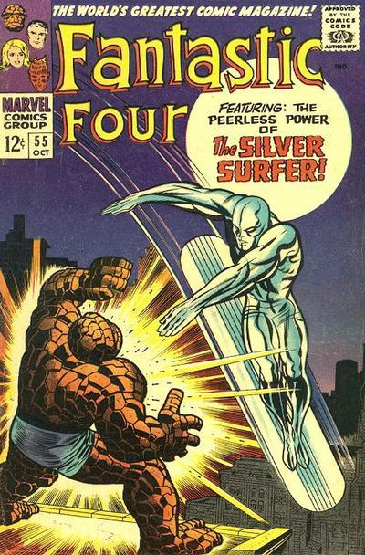 Fantastic Four Vol. 1 #55