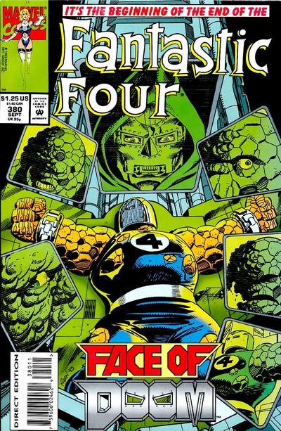 Fantastic Four Vol. 1 #380