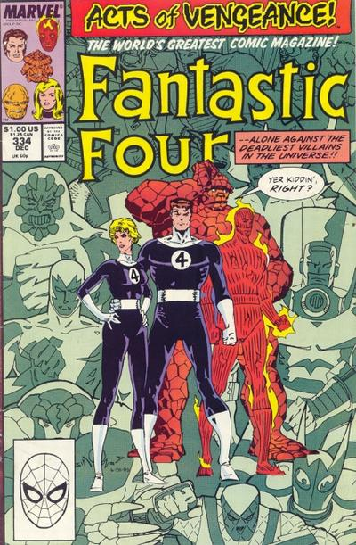 Fantastic Four Vol. 1 #334
