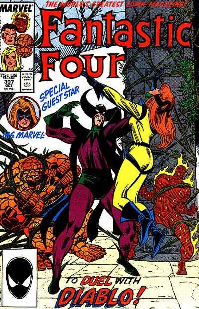 Fantastic Four Vol. 1 #307