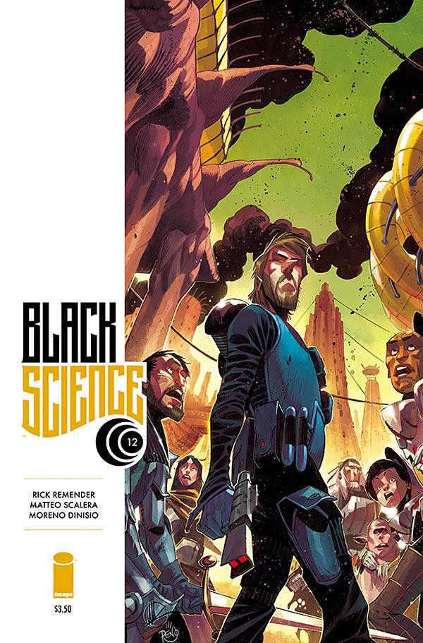 Black Science Vol. 1 #12