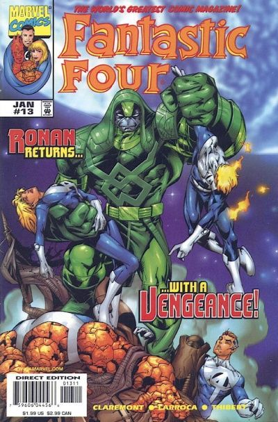 Fantastic Four Vol. 3 #13