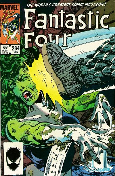 Fantastic Four Vol. 1 #284