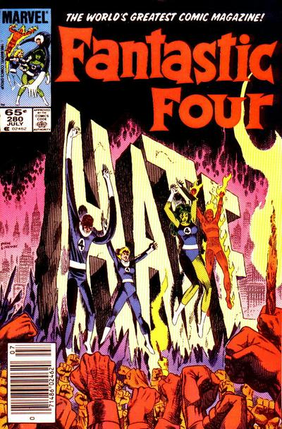 Fantastic Four Vol. 1 #280