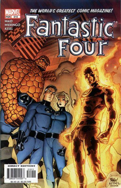 Fantastic Four Vol. 1 #510