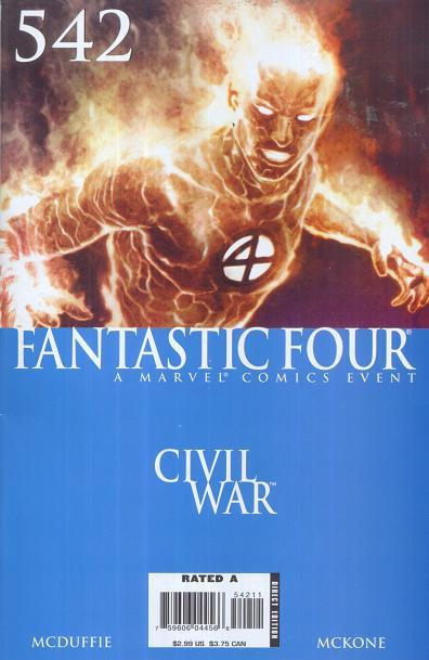 Fantastic Four Vol. 1 #542
