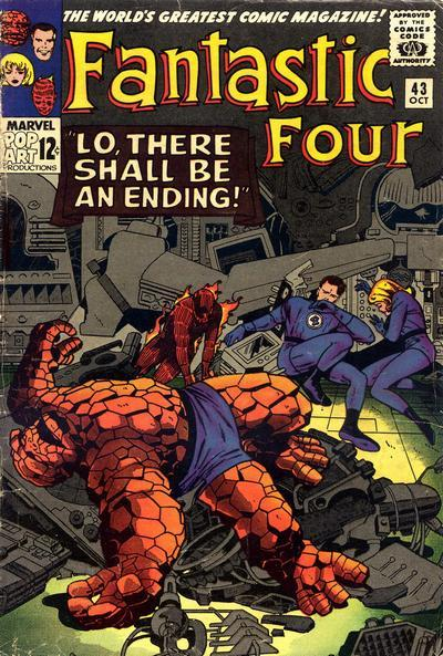 Fantastic Four Vol. 1 #43