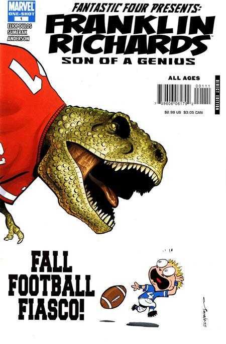 Franklin Richards: Fall Football Fiasco Vol. 1 #1