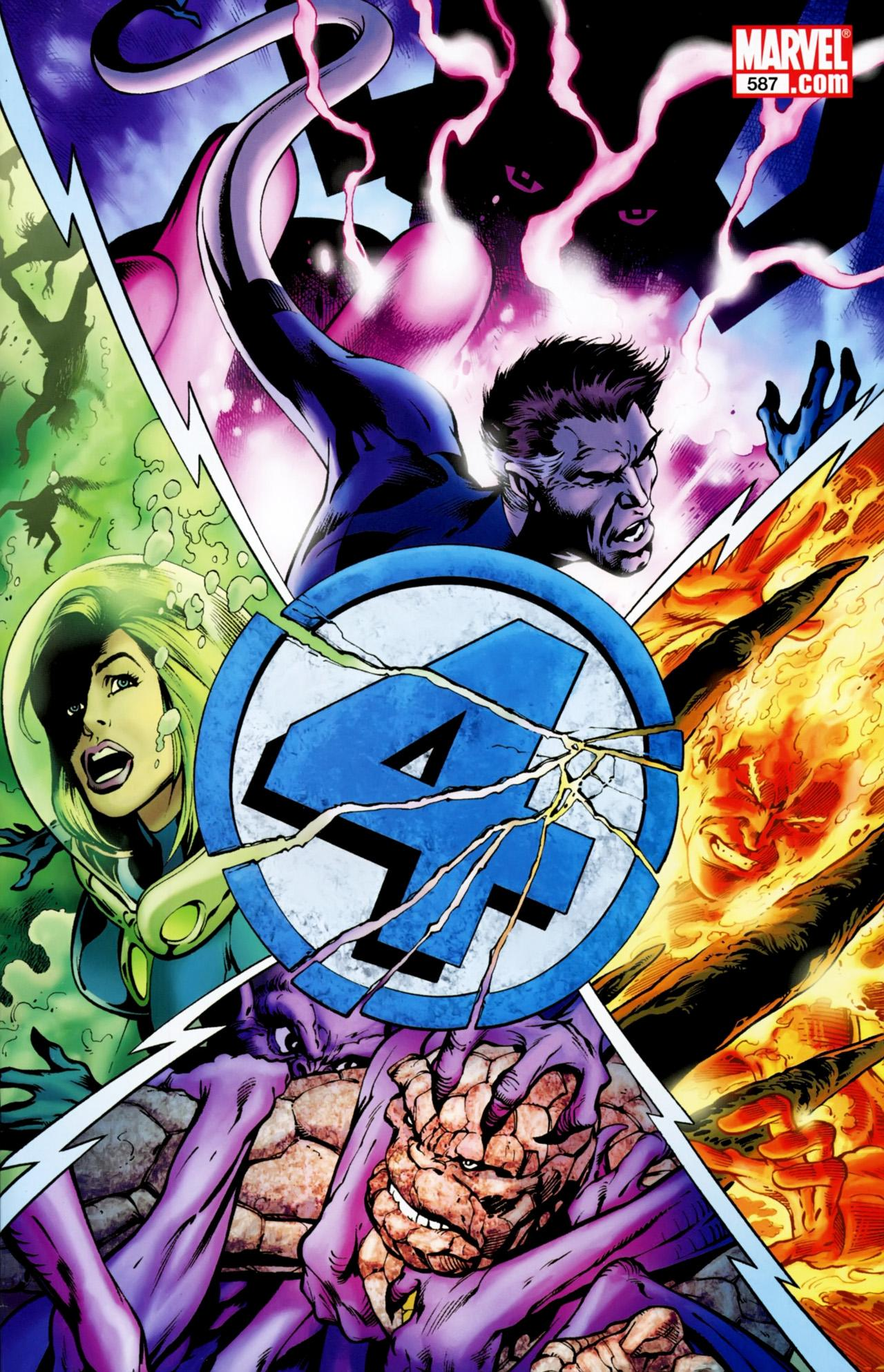 Fantastic Four Vol. 1 #587