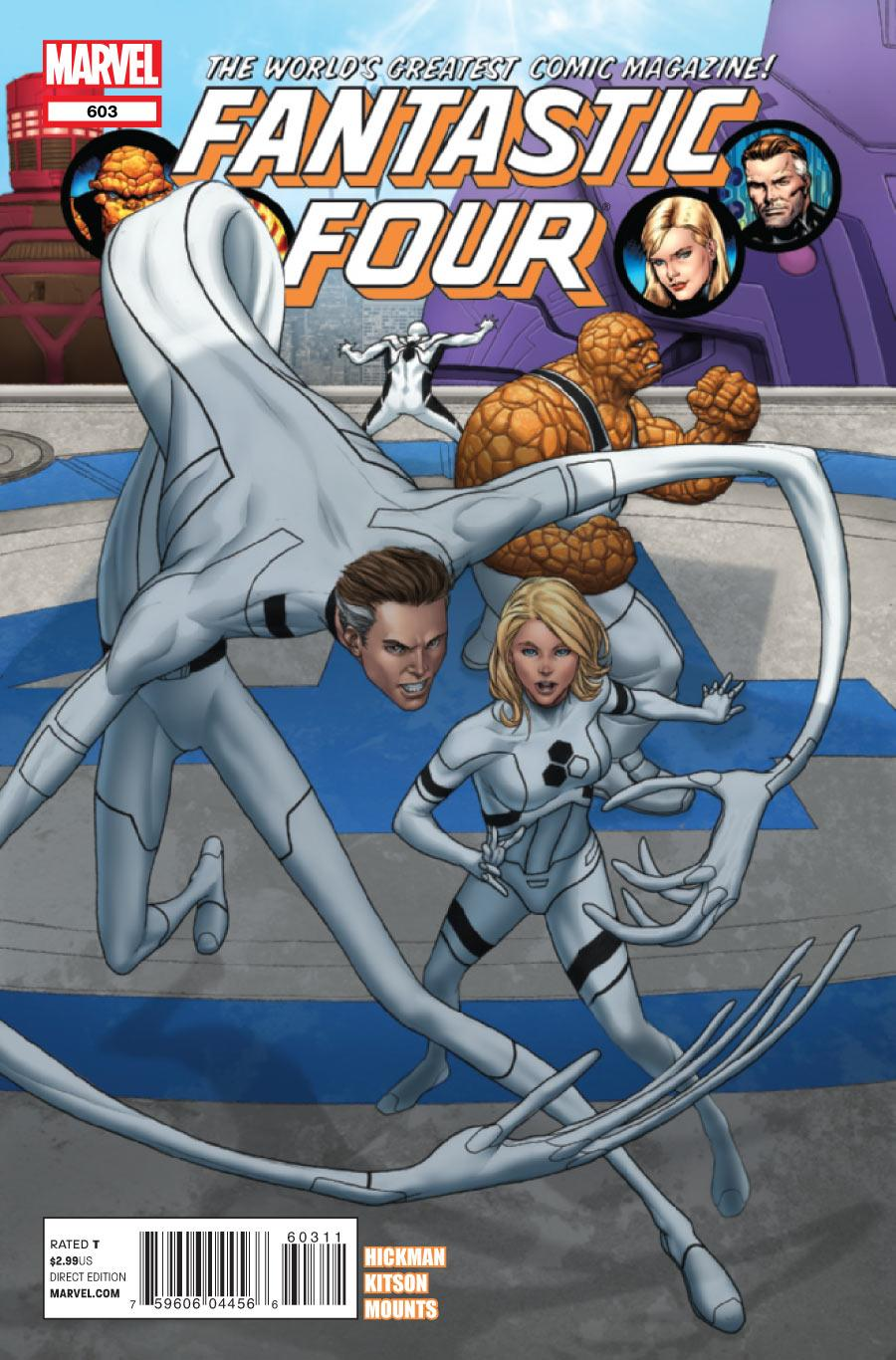 Fantastic Four Vol. 1 #603