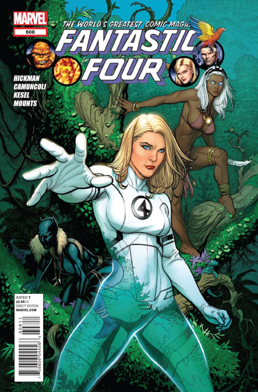 Fantastic Four Vol. 1 #608