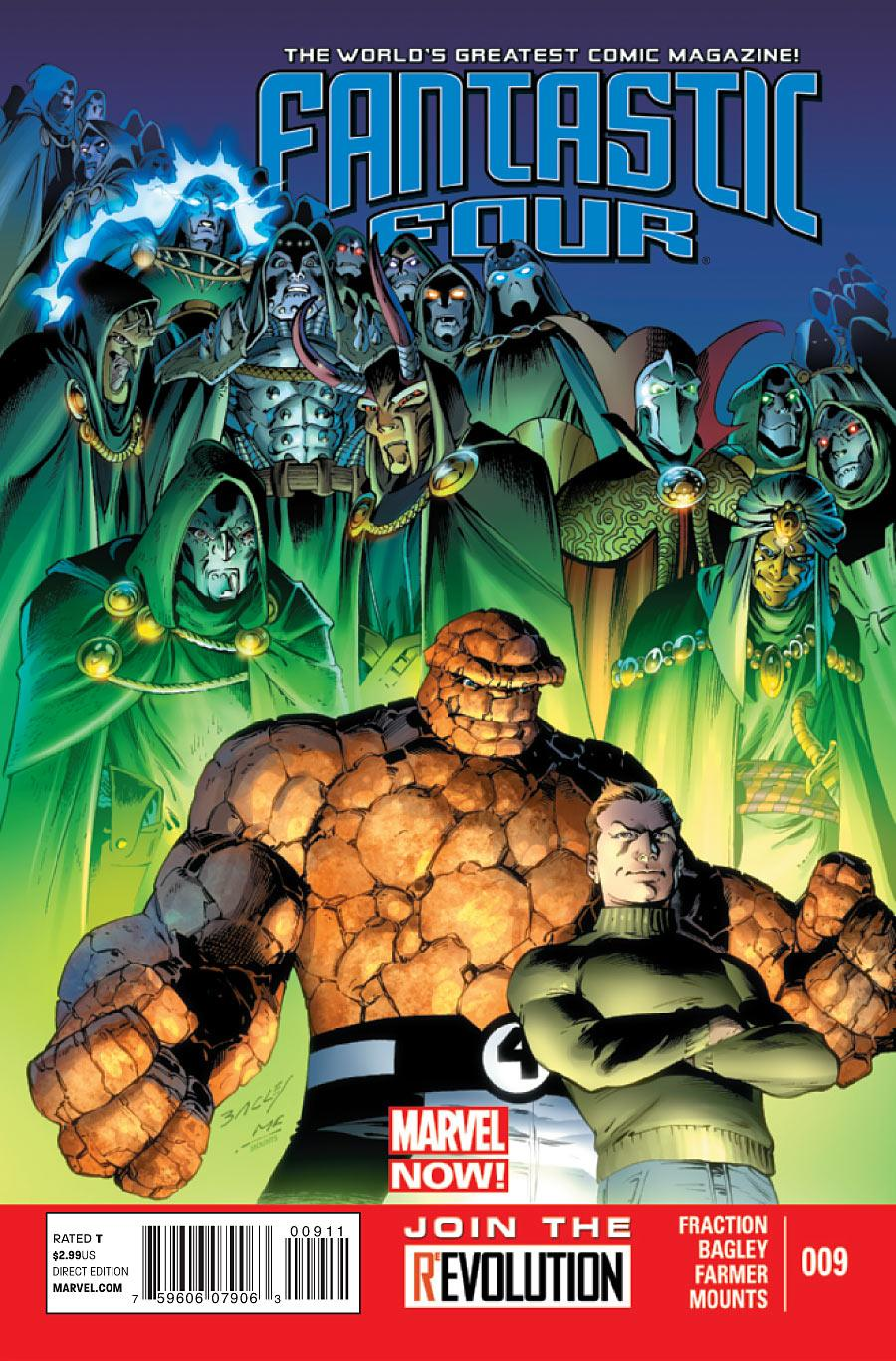 Fantastic Four Vol. 4 #9