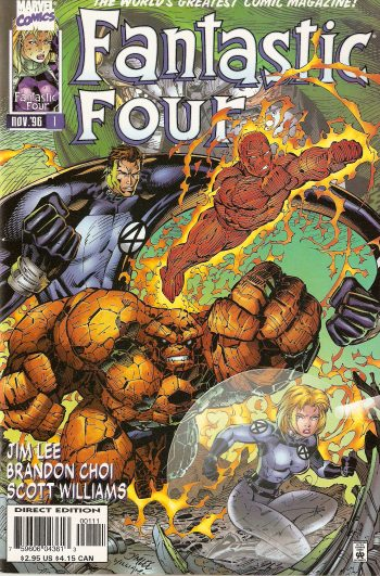 Fantastic Four Vol. 2 #1C